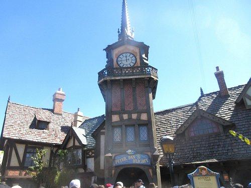 Peter Pan's Flight, Disneyland, Anaheim, Ca