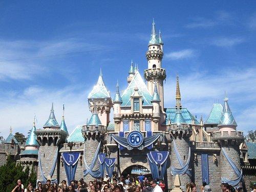 Sleeping Beauty Castle Walkthrough, Disneyland, Anaheim, Ca
