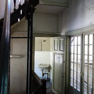 Upstairs hall in the building