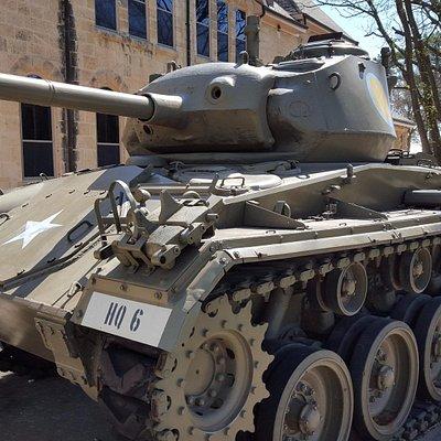 Chaffee tank, late and post WW2