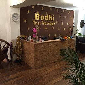 Bodhi Thai Massage Frankfurt am Main Zeil Hauptwache Empfang