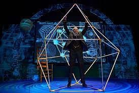 Ron Campbell channels R. Buckminster Fuller in a mesmerizing performance directed by D.W. Jacobs