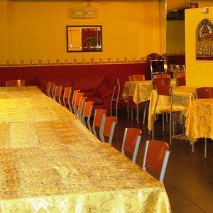 la nostra pizzeria, sala gialla