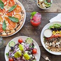 Signature Pizza and Salads