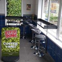 NOW SERVING HAVANA COFFEE