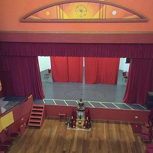 Cambridge Buddhist Centre is the old Festival Theatre, built 200 years ago