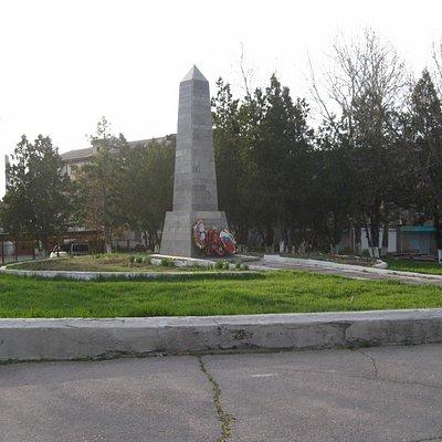 Памятник Партизанам в Бахчисарае
