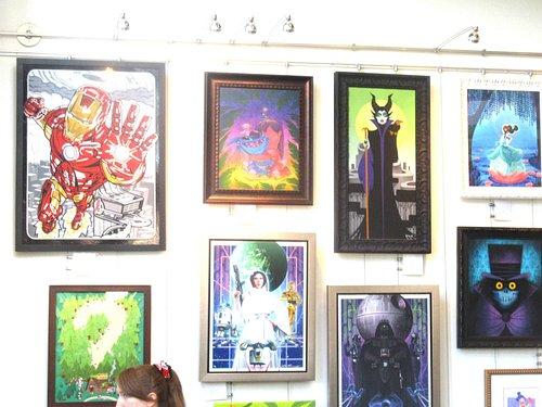 WunderGround Gallery, Downtown Disney, Anaheim, CA