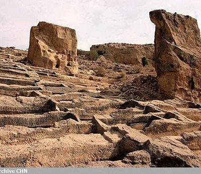 historical cemetery in siraf. photo: archive CNN