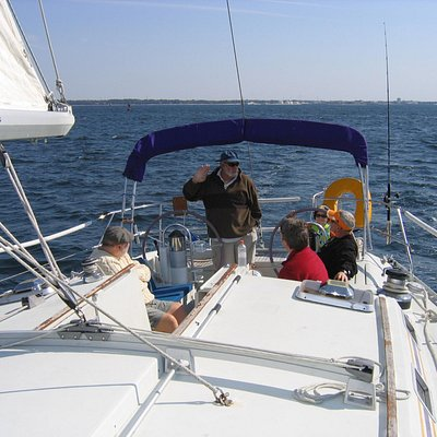 A sailing class with Reef Runner Sailing.