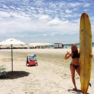 Surfing in Jeri with Xavi Surf School