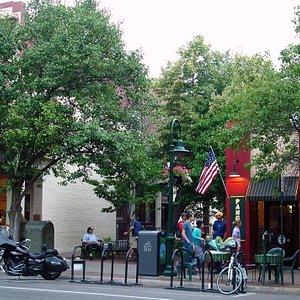 Bike parking on Front St