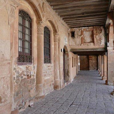 Soportales de la Plaza Mayor de Medinaceli