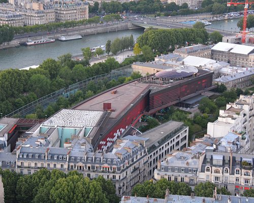 Musee from Eiffel Tower.