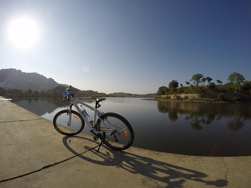 cycling around Jaipur and Rajasthan countryside