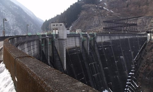 First time walking over a dam