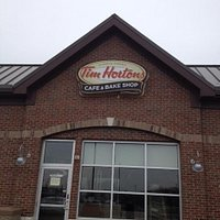 Tim Horton's Coffee Shop in Michigan.