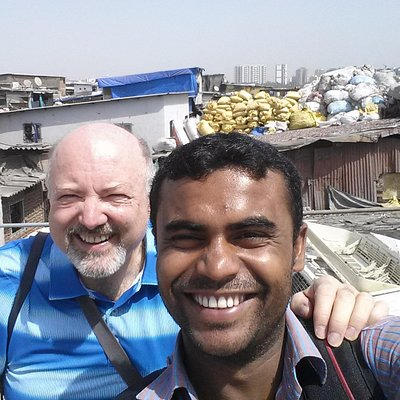 Dharavi tour with Mohammad