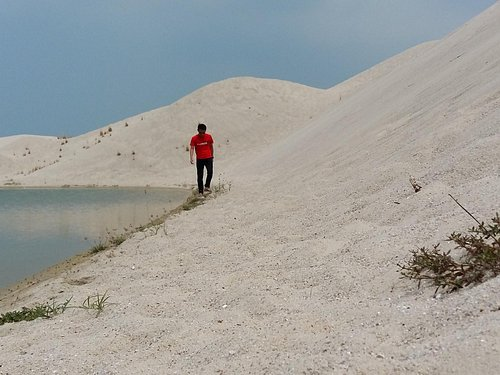 The Sand create beautiful desert feel