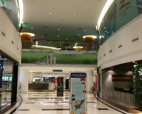 Internal and external view of Bangsar Shopping Centre