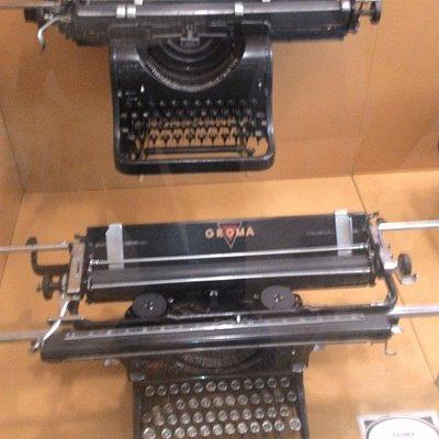 Экспонаты технического музея