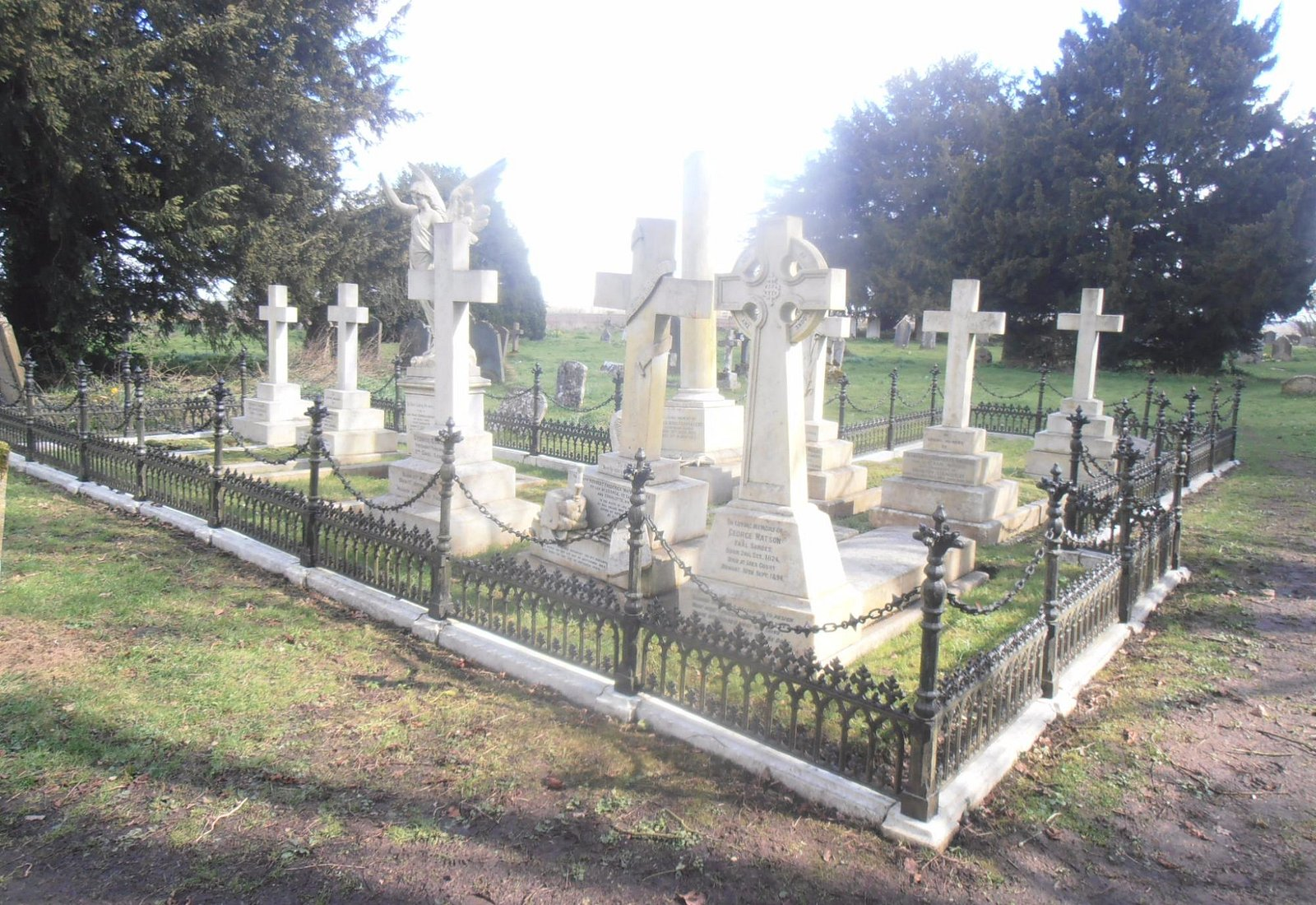 Graves of notable locals