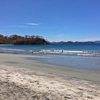 Playa Mina looking south,