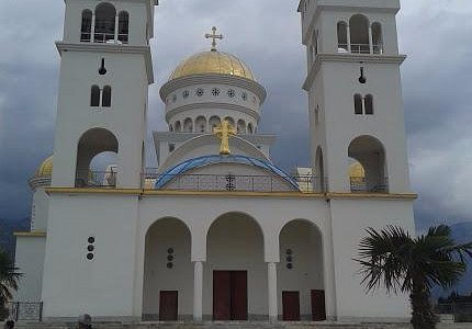 Фасад храма Святого Иоанна Владимира, город Бар