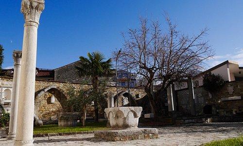 Il cortile del museo