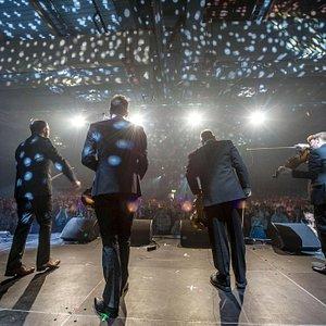 Fiddlers' Bid på opningskonserten: World ConneXions, 2015. Foto. Geir Birkeland