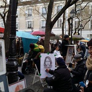 Künstler im Viertel