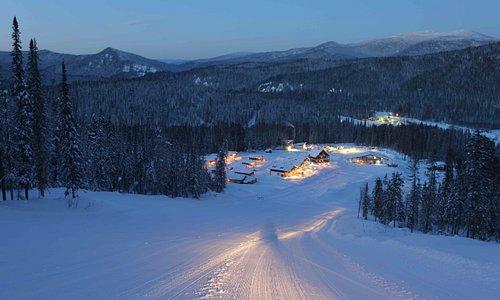 Горнолыжный курорт в центре Сибири
