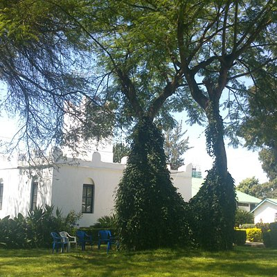 A very nice museum garden