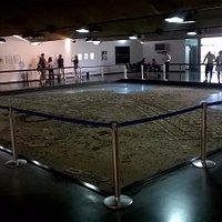 Espaço Lúcio Costa: enorme maquete