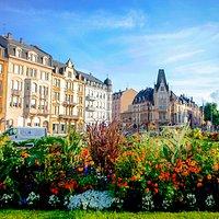 Thionville ville 3 fleurs - Crédit Ville de Thionville