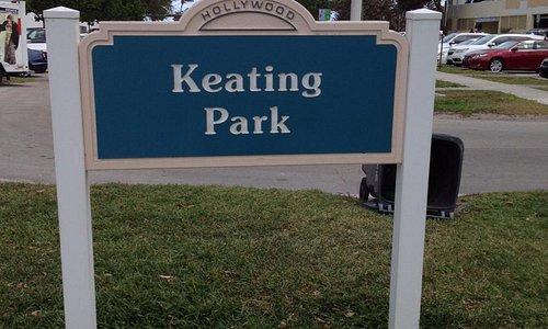 Park entrance sign S. Ocean drive