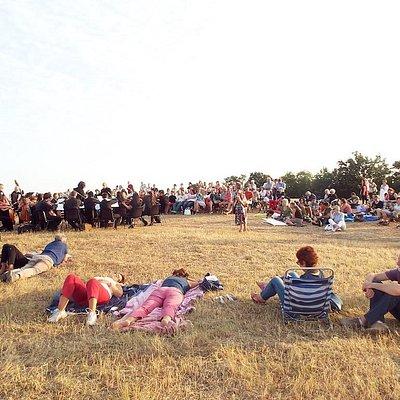 Concerto all'alba a Ghiaccioforte, luglio 2015