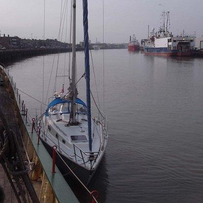 Liamar moored