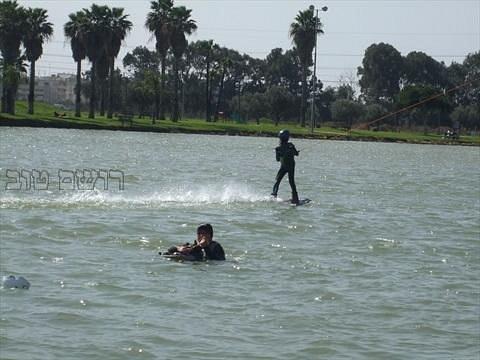 סקי מים שווה !!