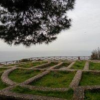 руины виллы
