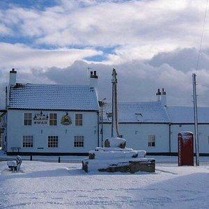Winter wonderland at The Black Swan Brandesburton
