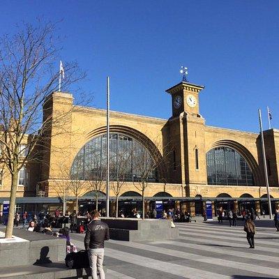 King's cross main station, London