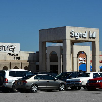 Front Entrance to a Dying Mall