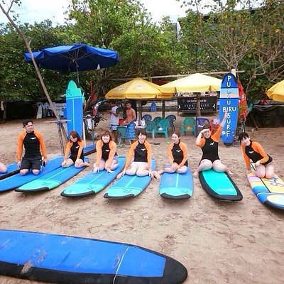 Pulau Biru Surf, legian beach in front of Pullman Hotel. Nice surf spot that and bar and grill.