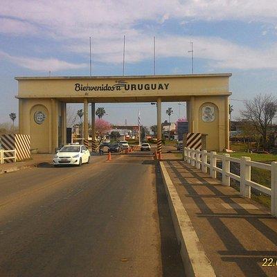 Atravessando para o Uruguai