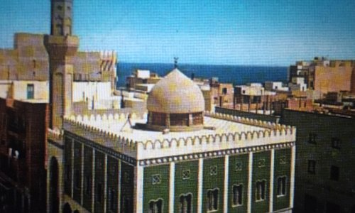 Omar Al-Mukhtar Mosque in Benghazi Libya
