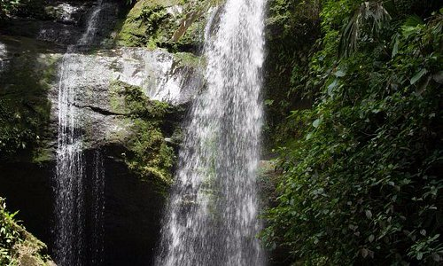 You should visit this waterfall in one of your excursions from the camp.