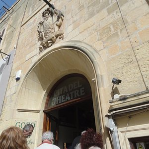 Entrance to theater