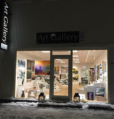 Art Gallery 101, winter time