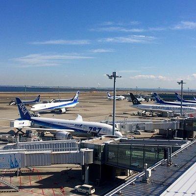 羽田空港 第二ターミナル 展望デッキ
